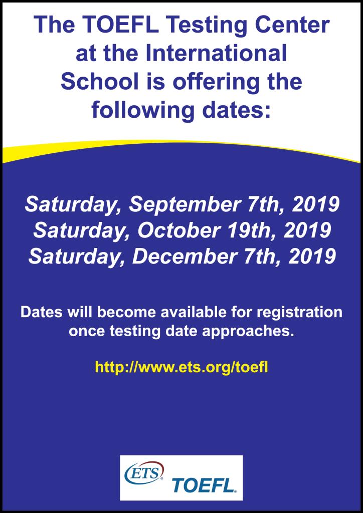 SAT/ACT/TOEFL | ISC
