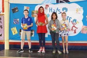 All About Books Assembly